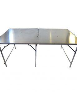 Alumiininen myyntipöytä