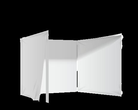 Valkoinen 3 umpiseinää ja ikkuna